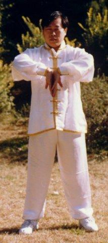 Сюй Минтан демонстрирует 1-е подготовительное упражнение